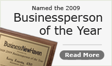 Larry was voted Business Person of the Year!